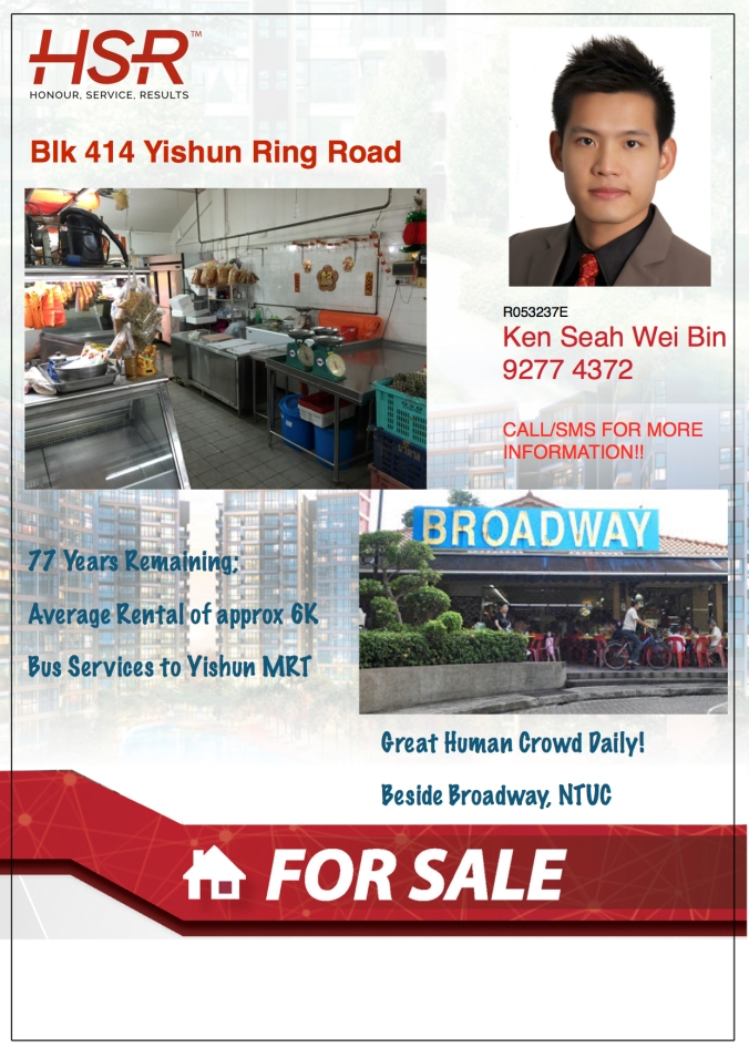 414 Yishun Ring Road CMA